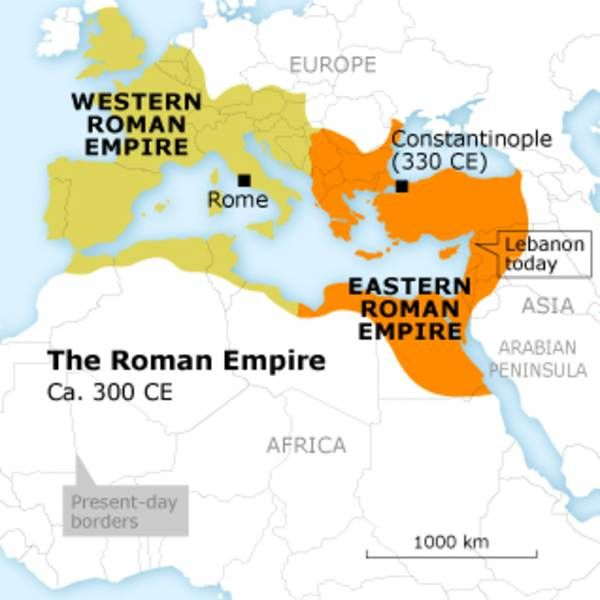 Western and Eastern Roman Empire | Everything I Know about the