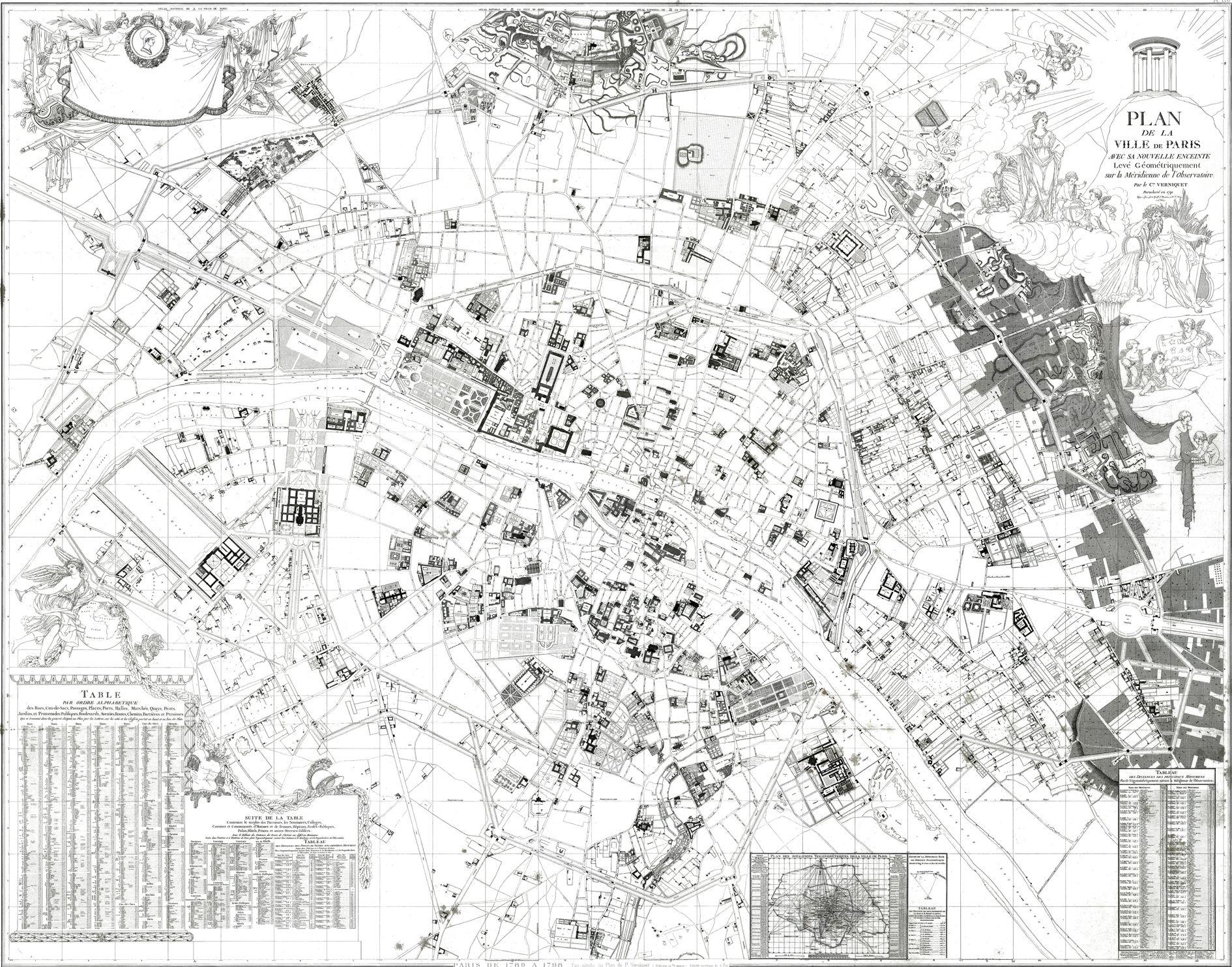 1790_plan de Paris_Verniquet-n'y sont représentés que les lieux publics