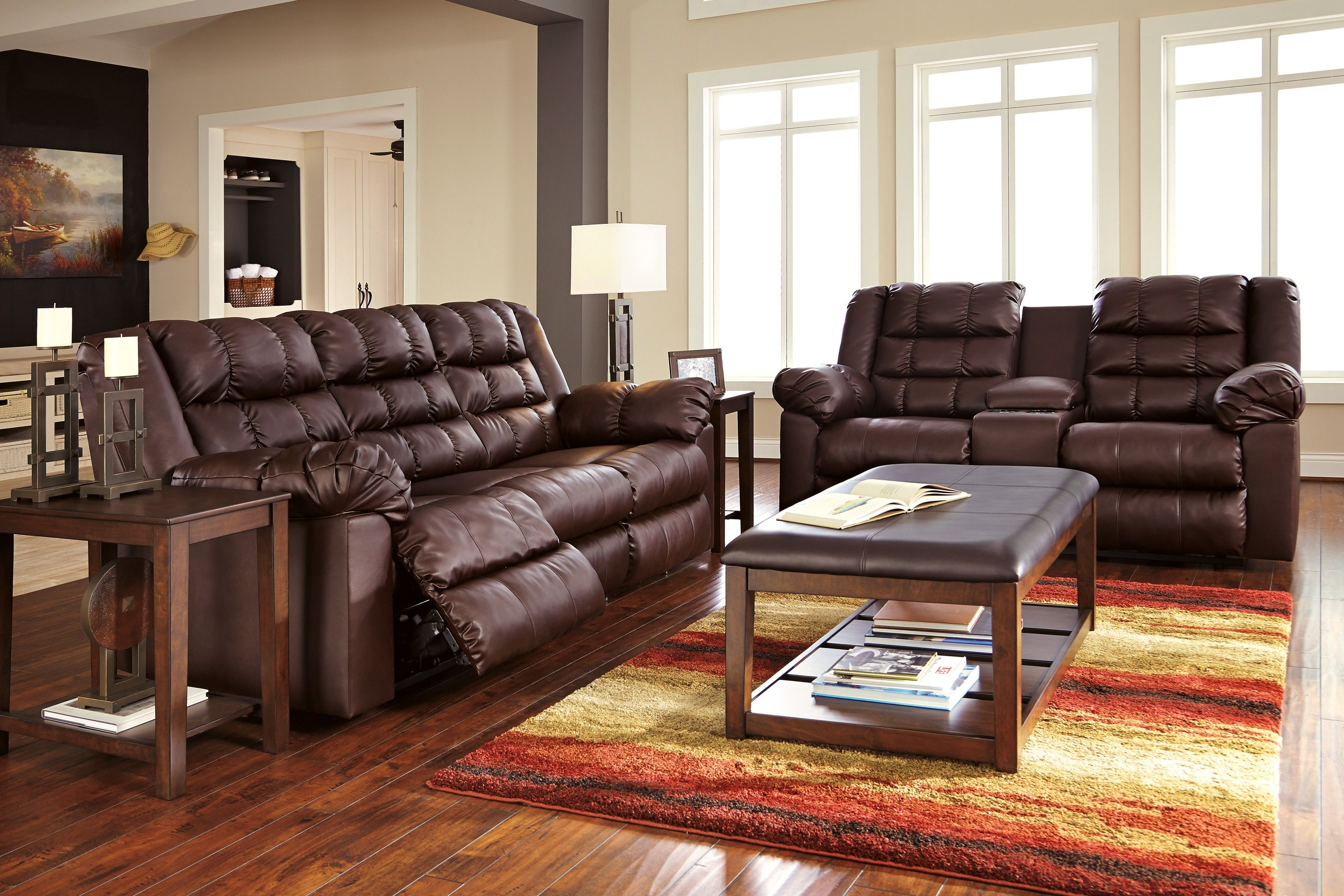 Brolayne Wide Seated Sofa And Love Set Available At All American Furniture In Lakeland Fl