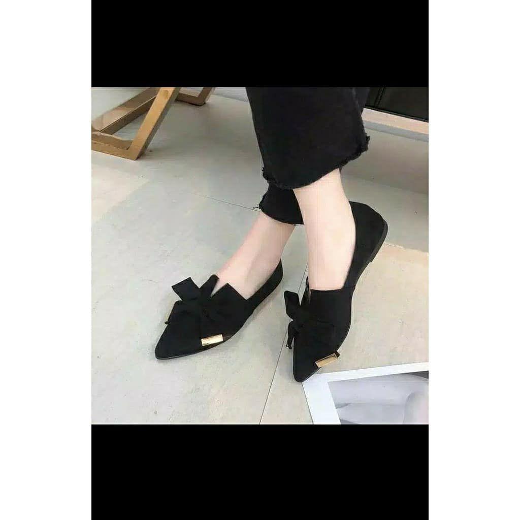 Flat Shoes Pita Rp 50 000 Sepatu Wanita Murah Pengiriman Dari