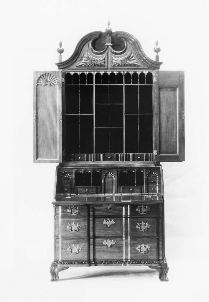 Desk and bookcase | Museum of Fine Arts, Boston