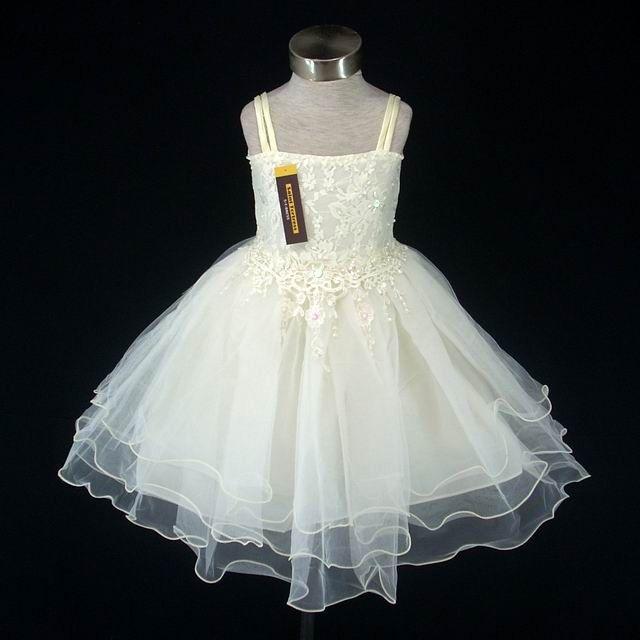 Light yellow wedding flower girl dress light yellow weddings hot item light yellow wedding flower girl dress mightylinksfo