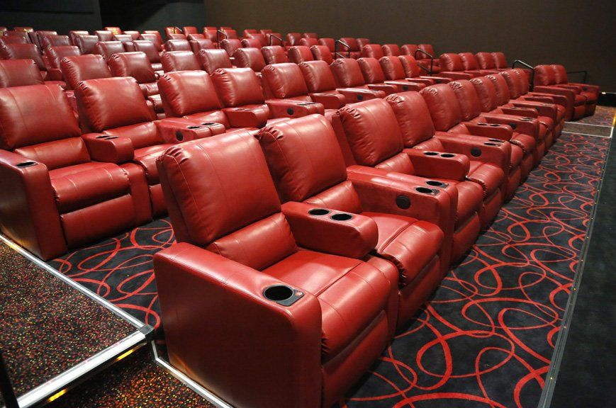 All The Seats In The Theater Are Padded Recliners At Amc La Jolla