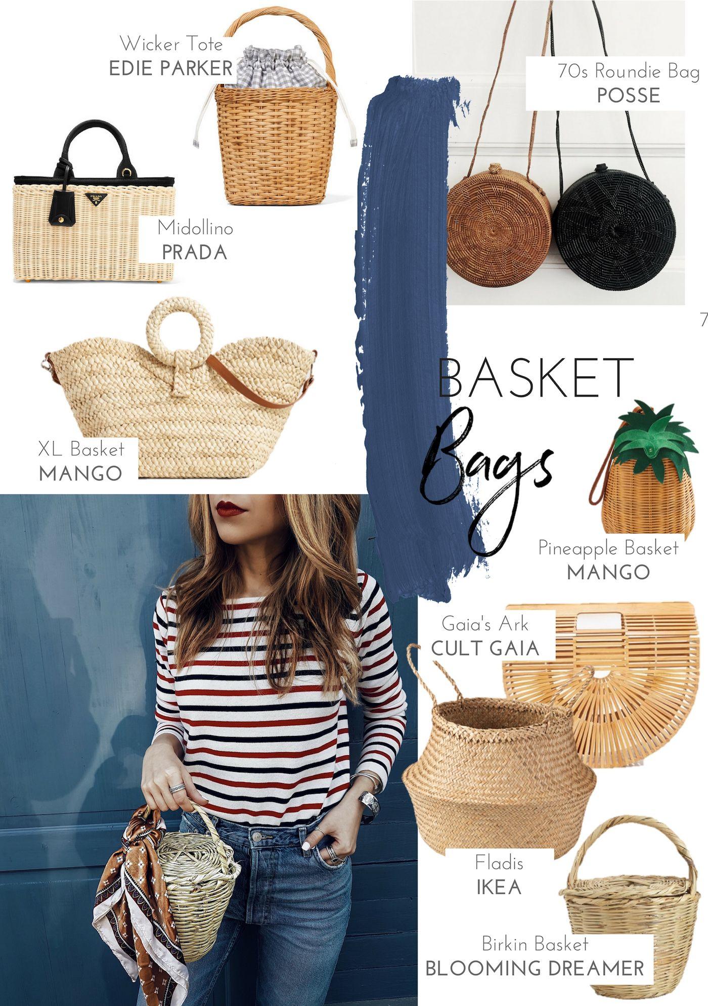Straw Bag Round-Up | Shopping | Pinterest | Straw bag, Rounding ...