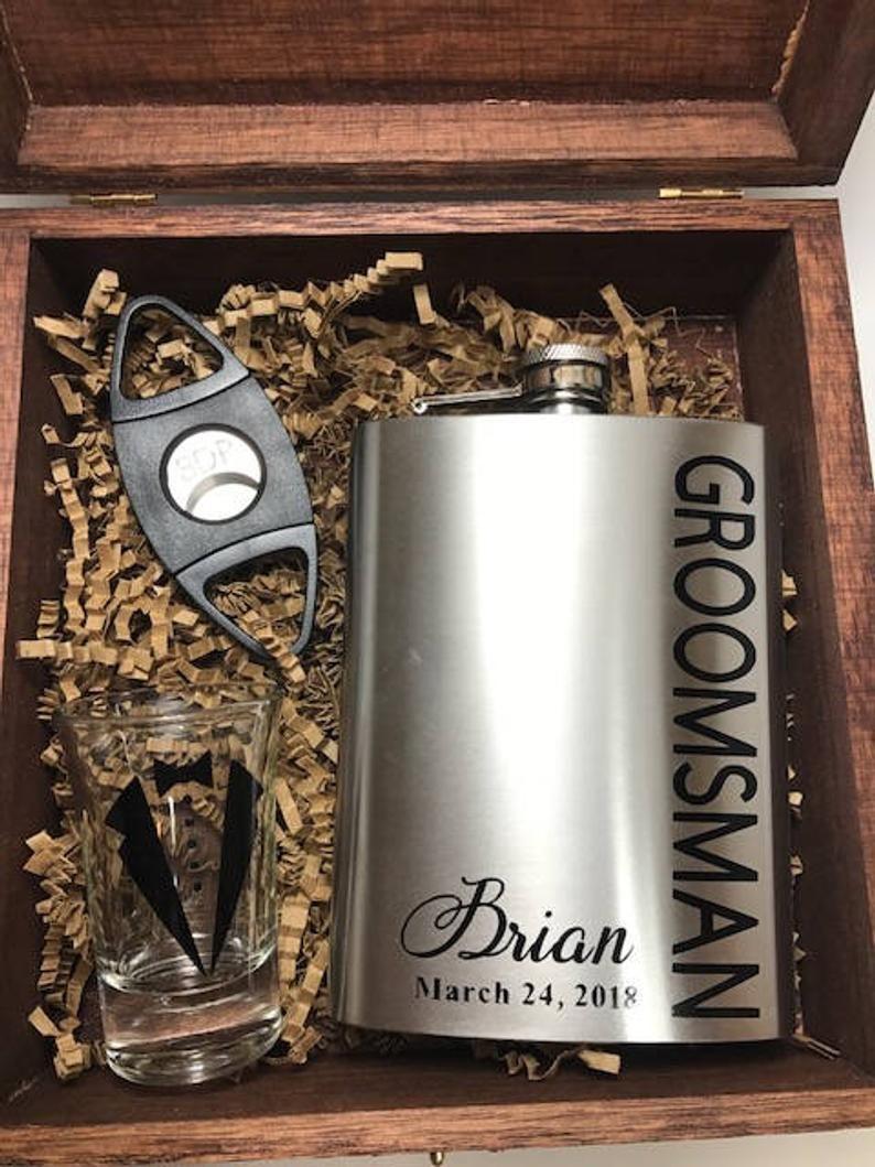 Groomsman Proposal Will You Be My Groomsman Groomsman Proposal Box