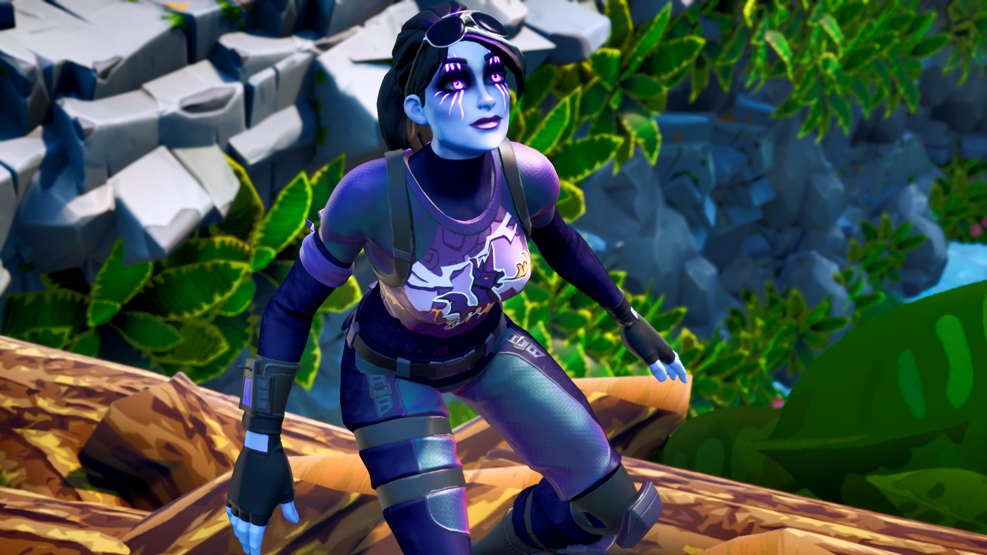 Days Before The Storm The First Unwatermarked Shots For You As A Thank You Free To Use Thanks For Sharing Dark Gamer Girl Epic Games Fortnite Fortnite