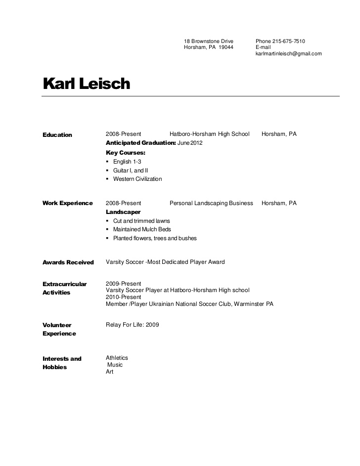 Resume Templates Copy And Paste (4) TEMPLATES EXAMPLE