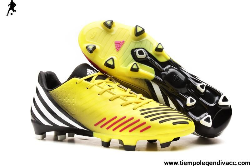 bc2086531bf ... sweden 2013 new adidas predator lz trx fg boots yellow purple black  soccer shoes on sale