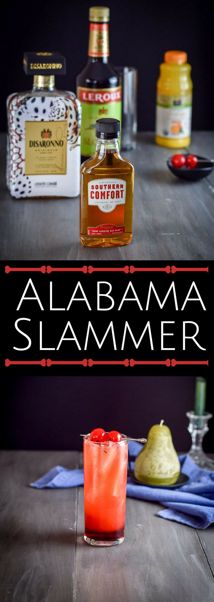 Shamalama Alabama Slammer cocktail recipe is super delicious that it will make you want to dance the shamalama, which involves shaking your hips a lot! via @dishesdelish https://ddel.co/alslckt