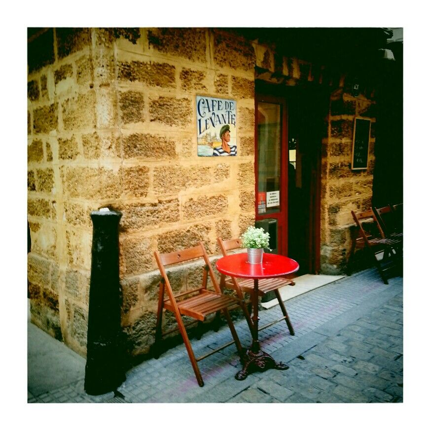 Cafè de Levante. Cádiz, Spain