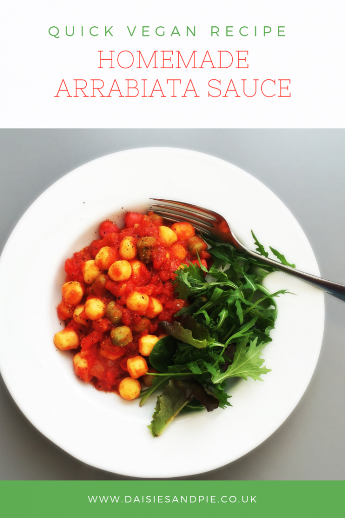 Easy Homemade Arrabiata Sauce