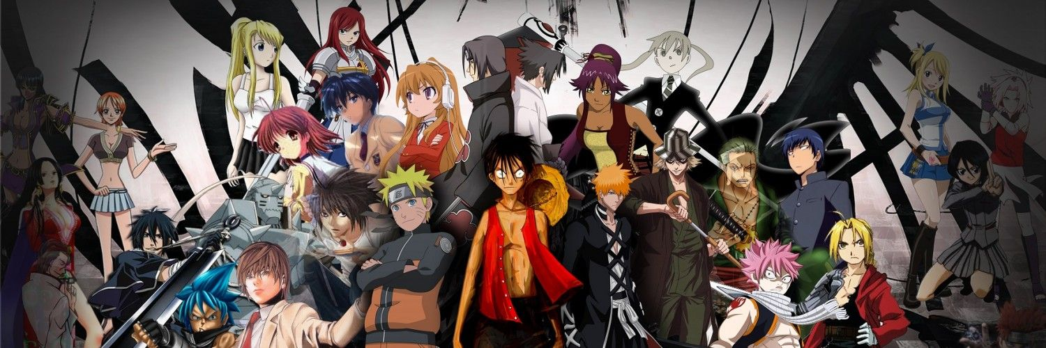 Bunch of anime combined in one how many can you find