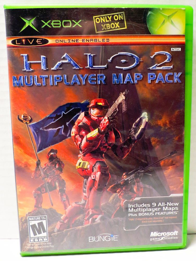 Halo 2 Multiplayer Map Pack Xbox Black Label | Latest items for SALE Halo Multiplayer Map Pack on