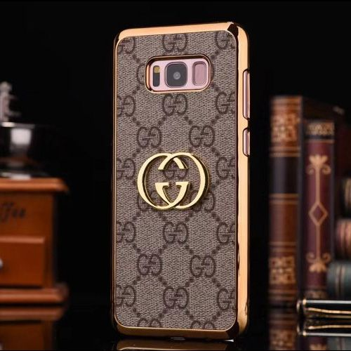 finest selection 44572 7fa04 Luxury Gucci Galaxy S8 Case Best Brown   Best Galaxy S8 Cases ...