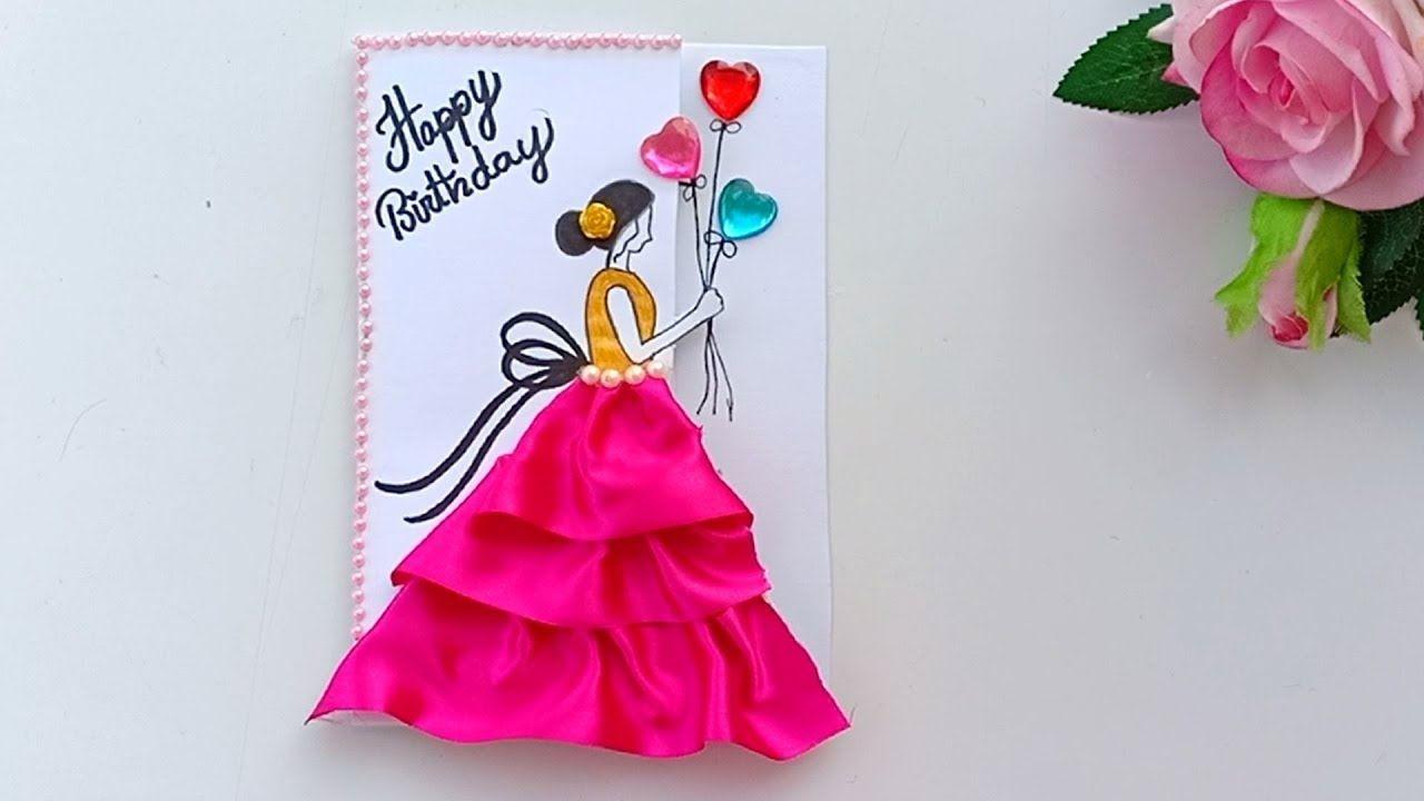 beautiful handmade birthday cardbirthday card idea in