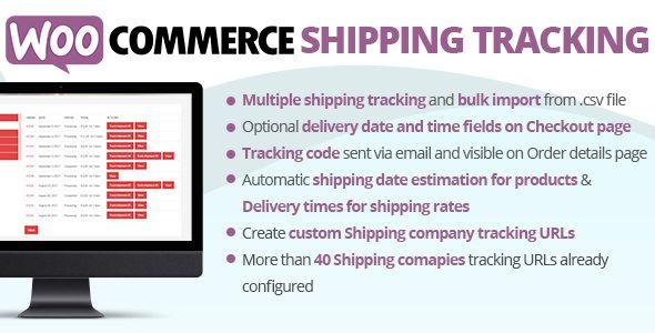 WooCommerce Shipping Tracking v16.2   Web graphics theme wp free ...