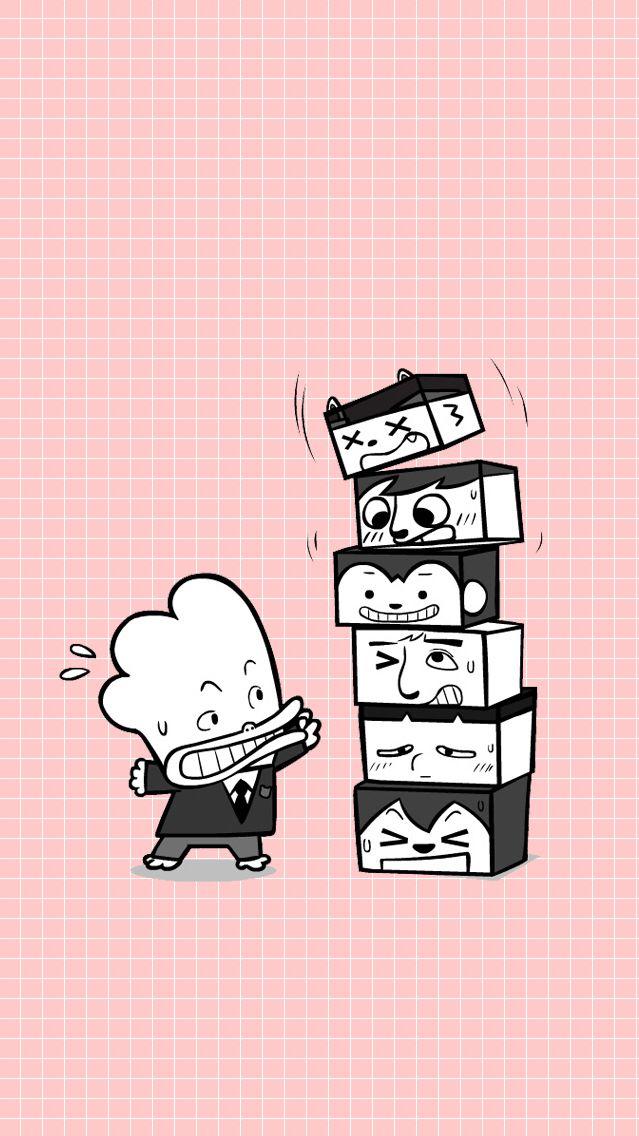 Run, Namjoon before the maknae blocks falls on you