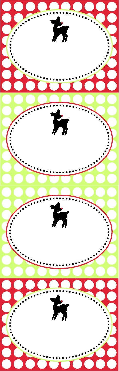 Adorable Free Printable Reindeer Food Tags Actual Tags In Link