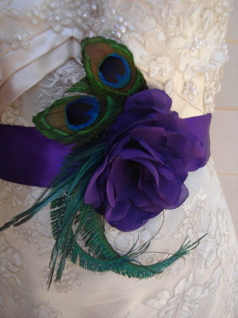 Hey, I found this really awesome Etsy listing at https://www.etsy.com/listing/165851823/purple-flower-and-peacock-feather