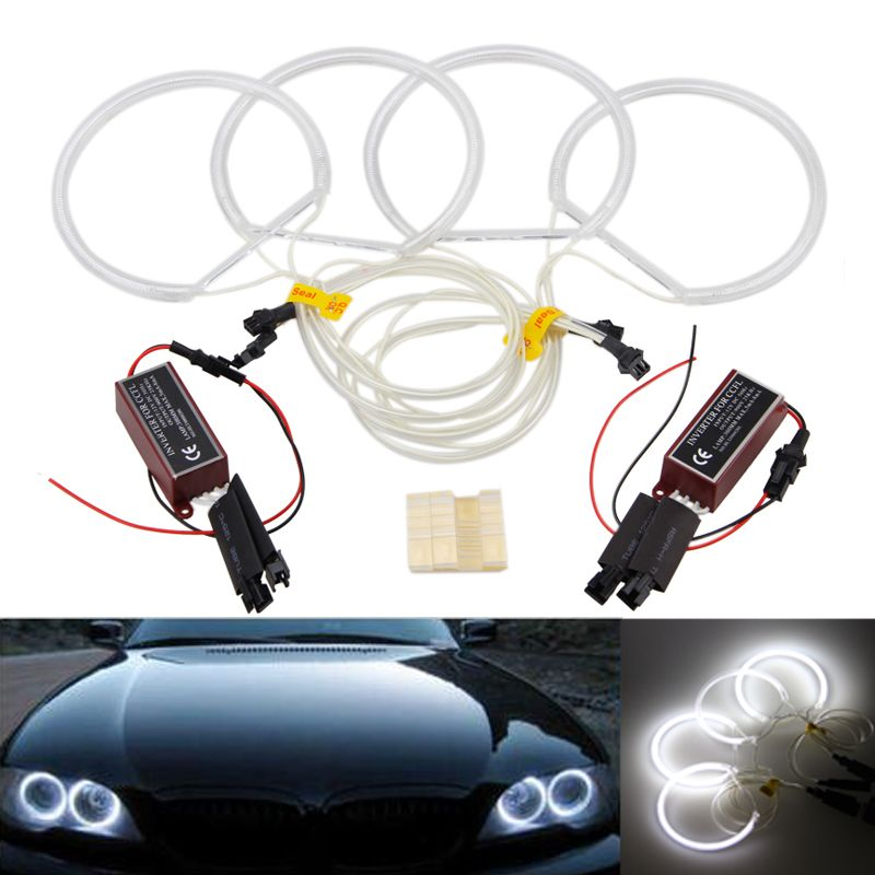 4pcs CCFL Halo Rings Angel Eyes Light For BMW E36 E38 E39