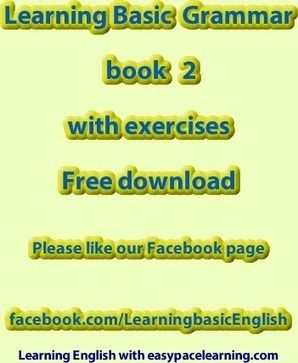 Learning Basic English Grammar Book 2 Pdf With Over 80 Exercises