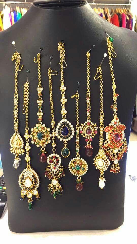 اكسسوارات هنديه Gold Accessories Diamond Necklace Jewelry