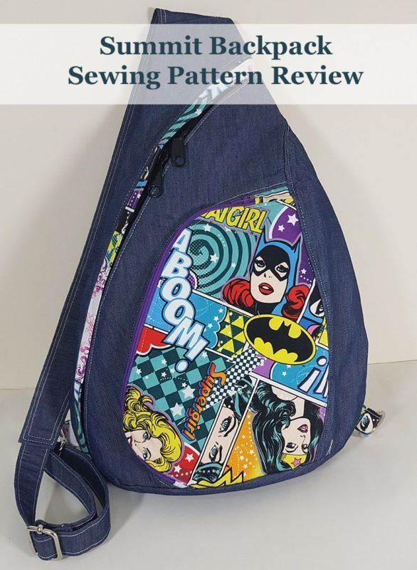 Summit Pack Sewing Pattern Review Sew Pinterest Sewing