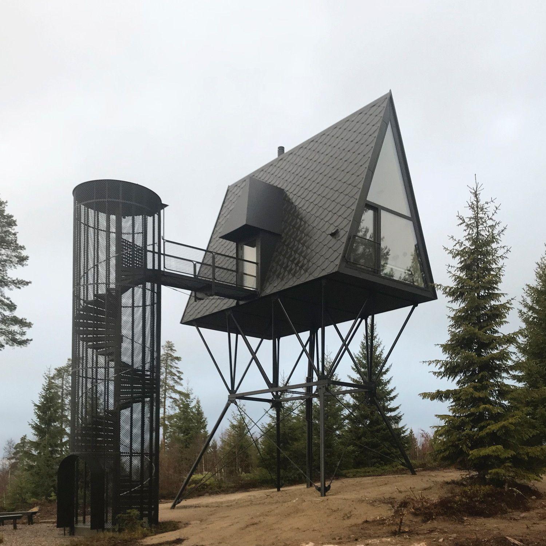 Ausguck im Muminwald – Baumhäuser von Espen Surnevik in Norwegen