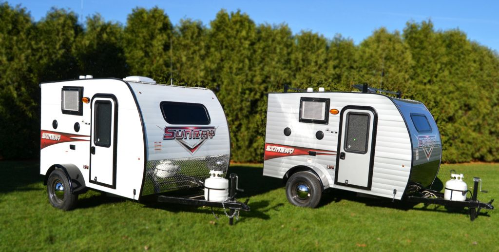 Sunray 109 Mini Travel Trailers Mini Travel Trailers Small