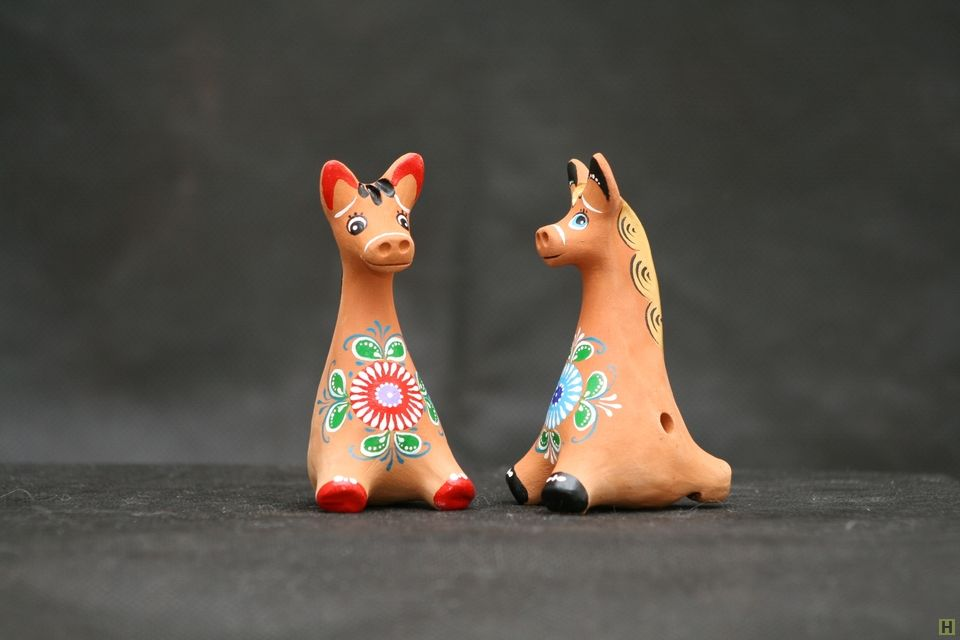 картинки глиняной игрушки