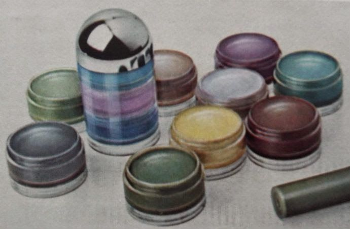LOVE AND YARDLEY 1960's COSMETICS