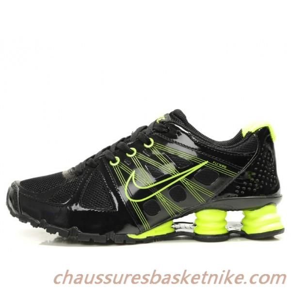 100% authentic skate shoes 100% quality Nouveau Nike Shox Agent Noir / Jaune | Chaussures Basket ...