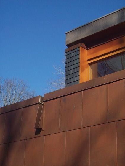Modern Scupper Plus Flat Roof Tutorial Tiburon Pinterest