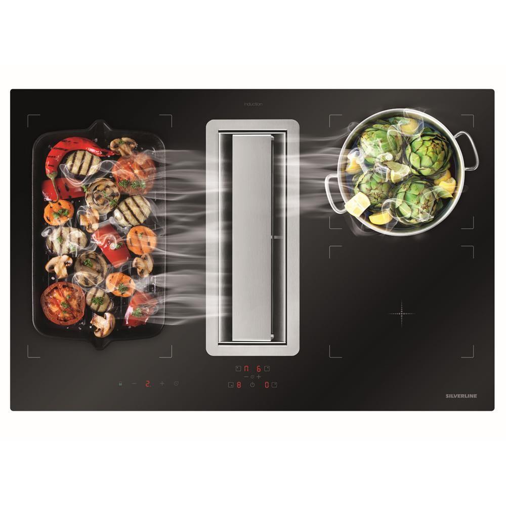 Bora Plaque De Cuisson plaque de cuisson avec hotte intégrée silverline flow max