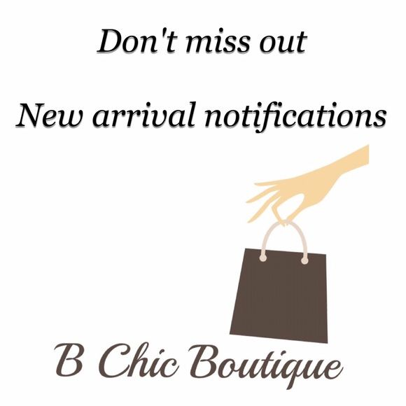 "Come in and take a sneak peak! If you would like to be notified of sales and new arrivals ""like"" this listing or tag yourself Other"