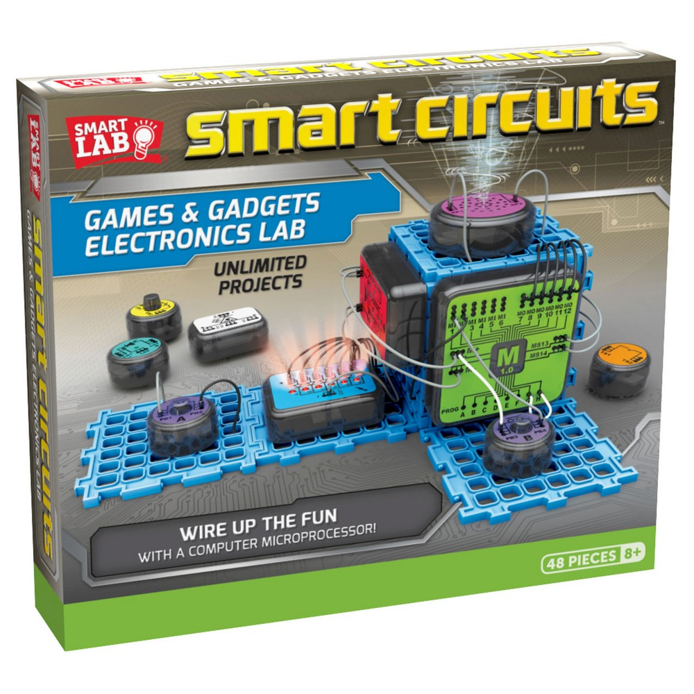 Smartlab Toys Smart Circuits For My Kids One Day Pinterest Amazoncom Snap Motion Electronics Discovery Kit Complete The Circuit To Make A Quiz Show Game An Electronic Drum Sensing Room Alarm And Much More Using 10