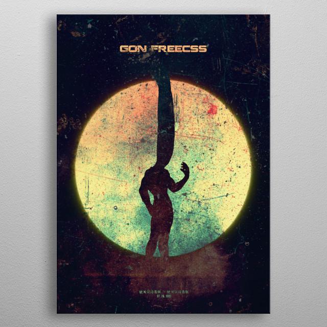 GON PREECS Minimalistic Poster Print | metal posters - Displate | Displate thumbnail