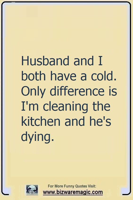 It's always a good idea to have a sense of humor in your marriage! 😁