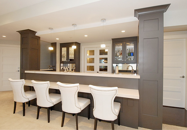 Image gallery modern home bars - Inspirational home bar design ...