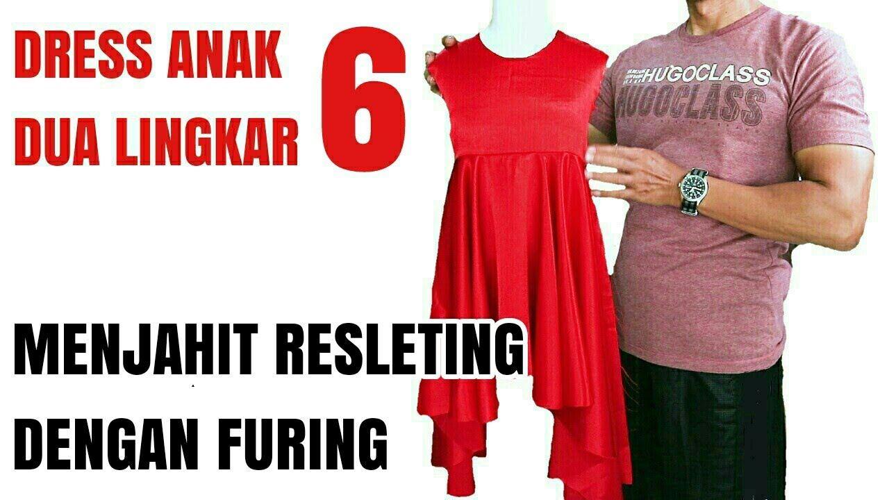Seri 6 Baju Anak Dress Dua Lingkar Dresses Dress Anak Kids Dress