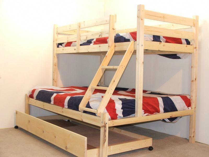 Triple Bunk Bed Trundle Triplebunkbedsdiy Triple Bunk Beds