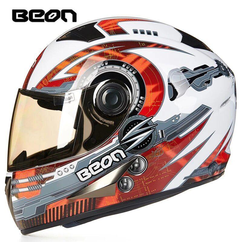 Original Motorcycle helmet ECE Approved Classic full face Motorbike Kart Racing Helmet