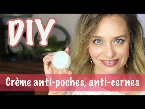 DIY: Crème contour de l'oeil anti-âge, anti-cernes, anti-poches
