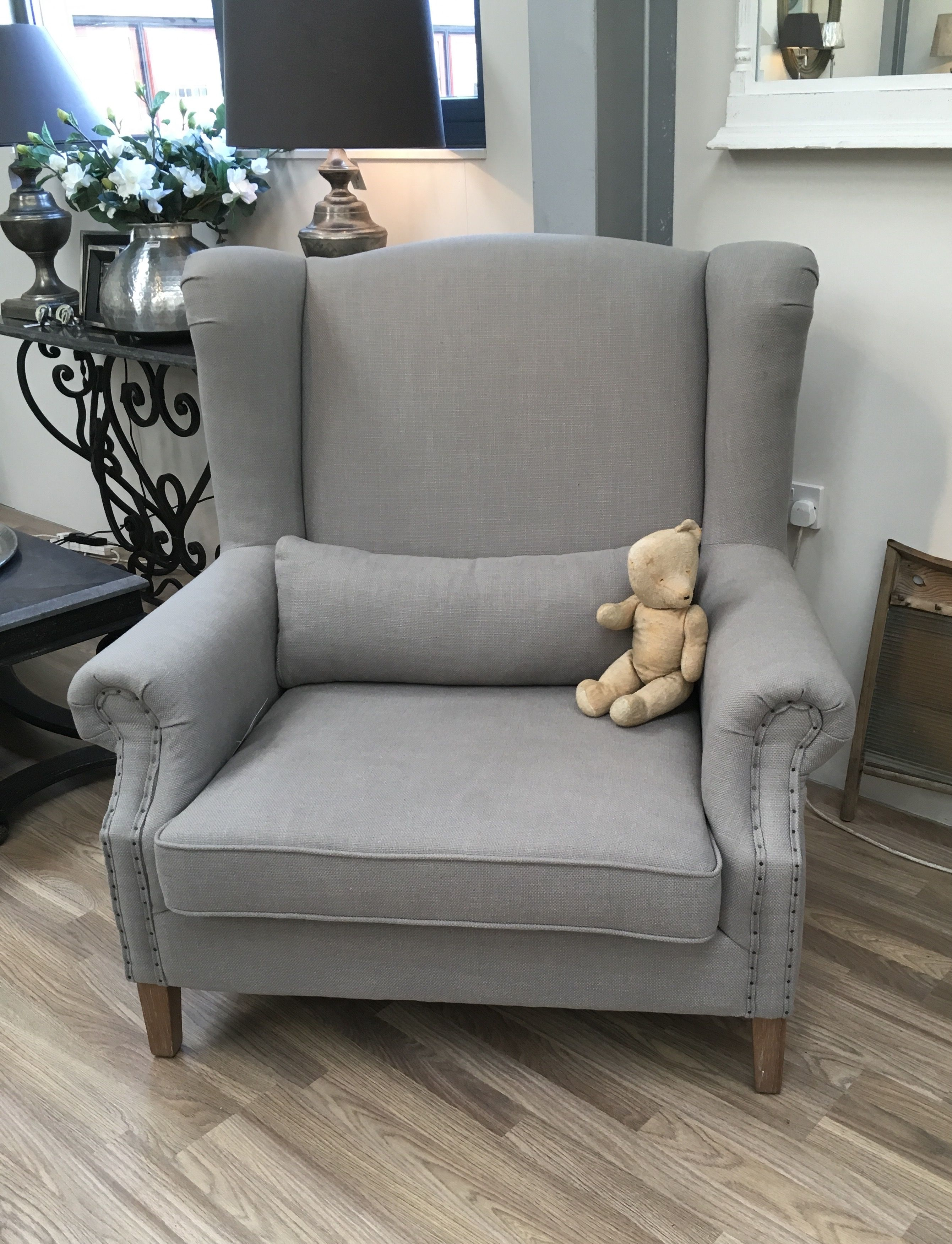 Beautiful Beautiful Grey Herringbone Extra Wide Armchair £995 Contact  Claire@myfancyaffair.com