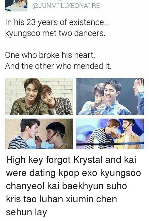 baekhyun Dating Krystal im 20 datant d'un 28 ans