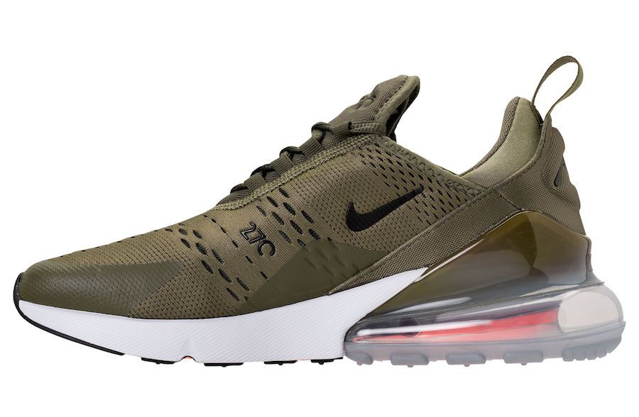 size 40 fc2b8 1c929 Nike Air Max 270 Medium Olive AH8050-201