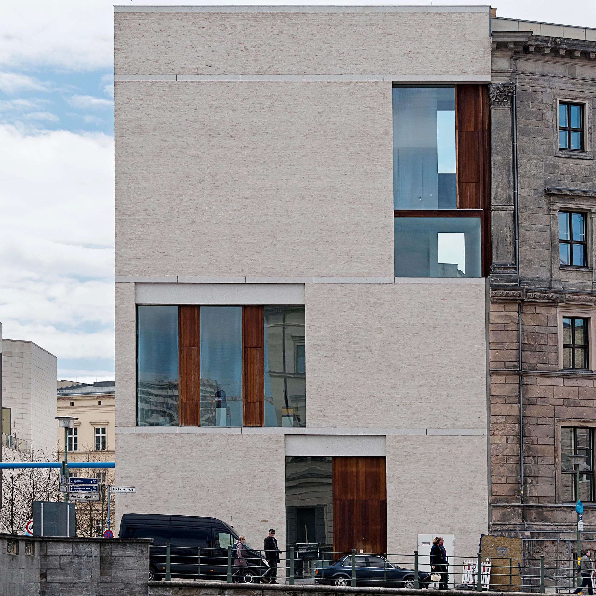 Gallery building by david chipperfield architects ltd for Architektur master berlin