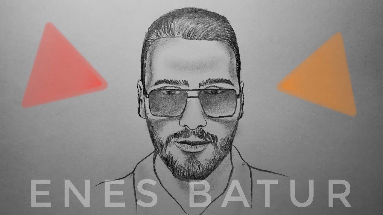 Enes Batur Portre Karakalem Cizimi Youtuber 1 In 2020 Youtube Howto Make It Yourself