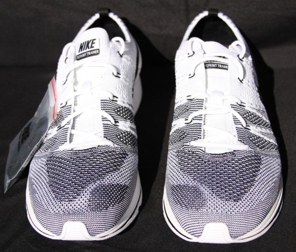 92b24726f421b Nike Flyknit Trainer Oreo White Black Sz 11 The Return AH8396-100 Yeknit   fashion  clothing  shoes  accessories  mensshoes  athleticshoes (ebay link)