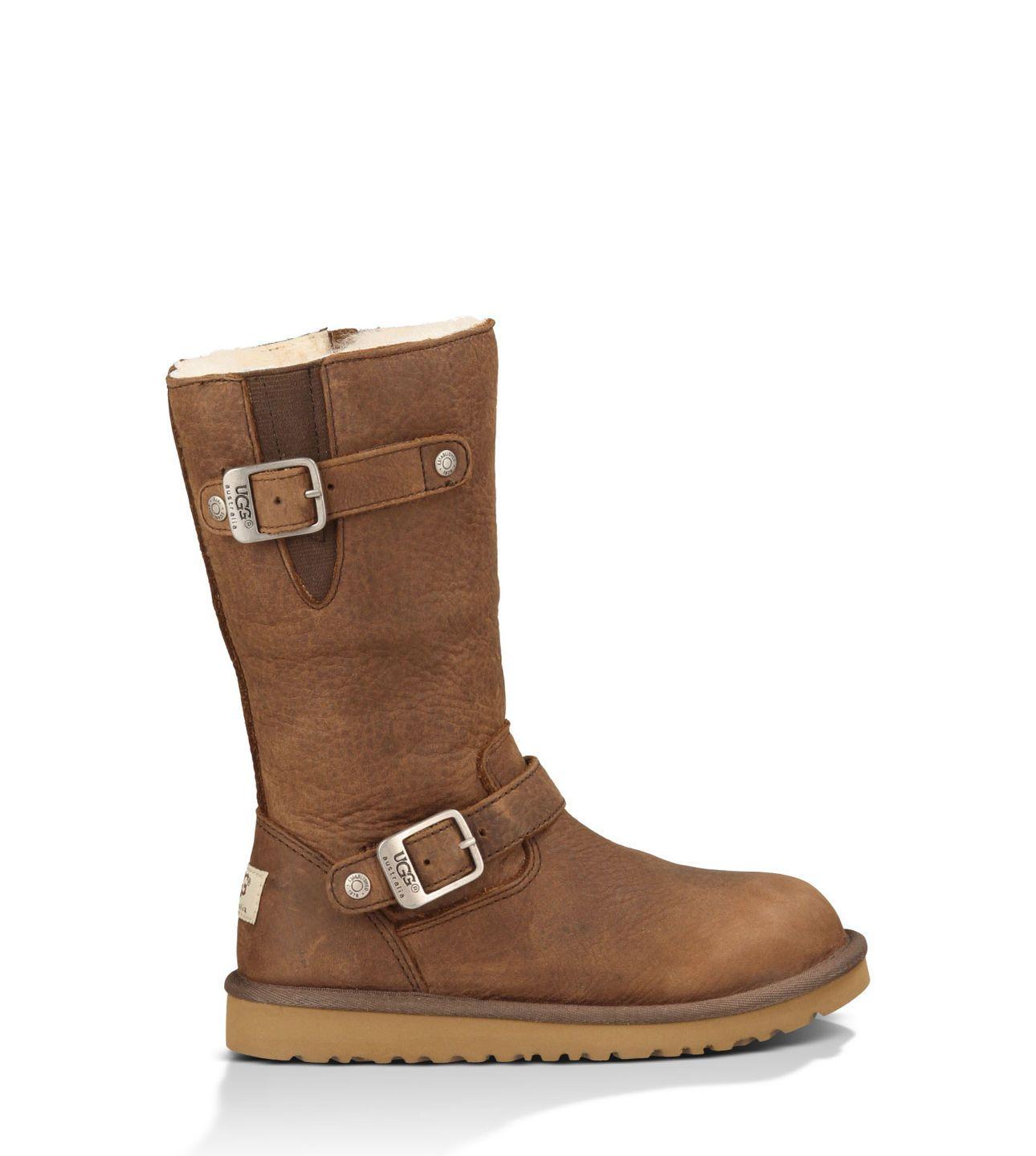 Kensington | Leather Buckle Boots